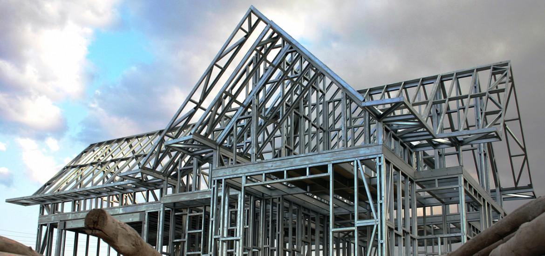 Bâtiment en Acier Léger