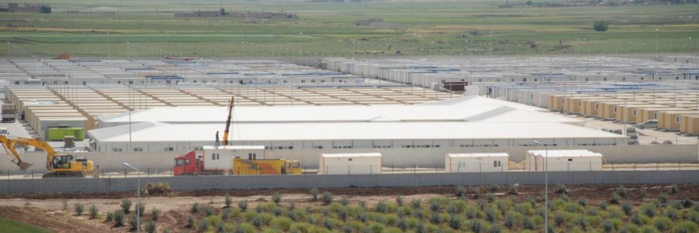 Cité Conteneur Kilis est complété par des conteneurs de la société Prefabrik Yapı A.Ş.