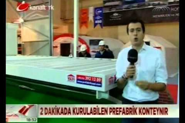 Prefabrik Yapi A.Ş. dans KanalTurk Nouvelles