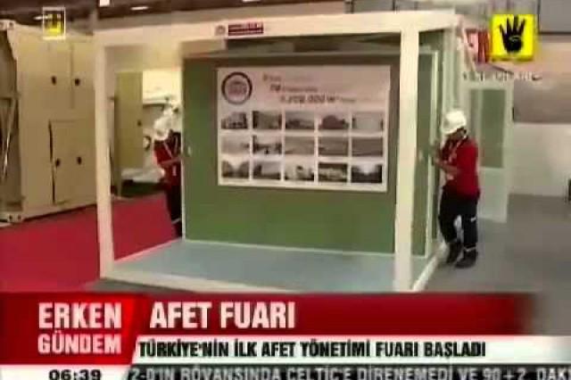 Exposition de la gestion des catastrophes ÜlkeTV Bulletin