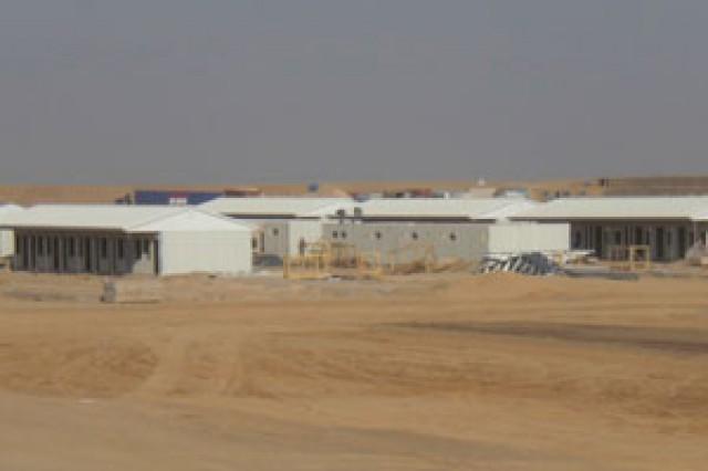 Projet du Camp sur une surface de 17.000 m2 en Afghanistan