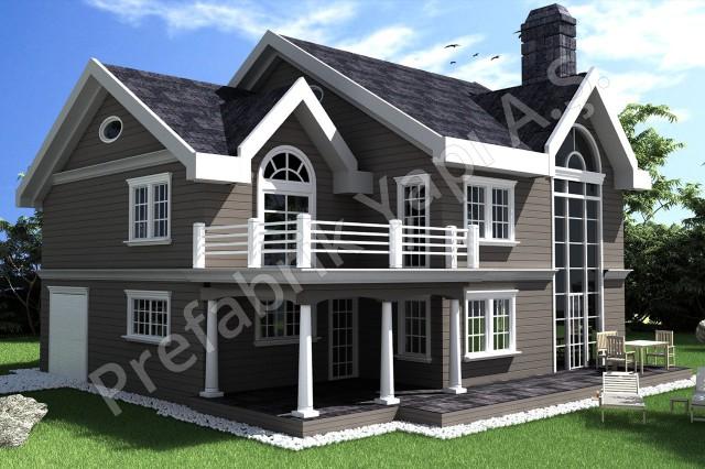 Américain Architecture Villa
