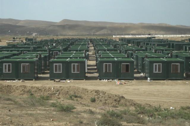 Projet Camping Conteneur a Azerbaidjan