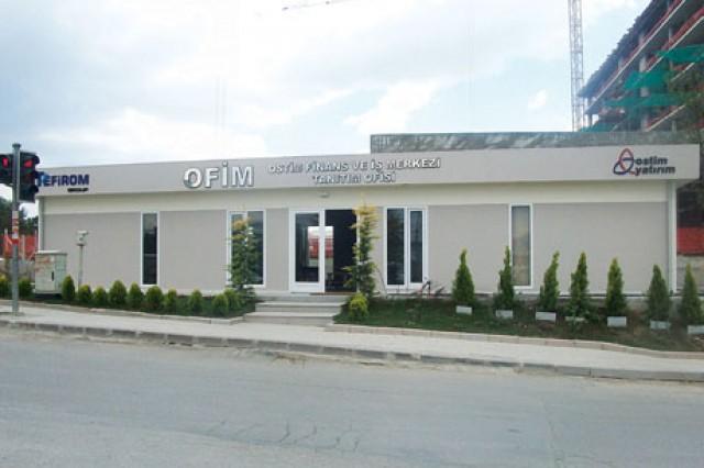Projet du Centre Commercial et Finance Ostim
