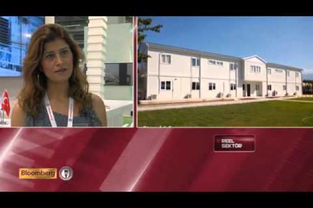 Prefabrik Yapı A.Ş. Bloomberg HT Reel Sektör programme (Construction Foire 2014)