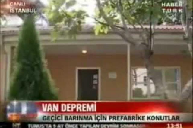 Prefabrik Yapi A.Ş. dans HaberTurk Nouvelles