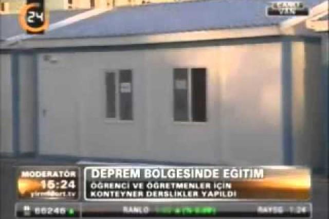 Prefabrik Yapi A.Ş. dans le Canal 24 Nouvelles