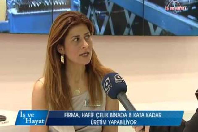 Prefabrik Yapi A.S. Kanal A Programme de vie et d'affaires (Construction Foire 2014)