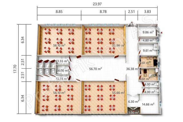 PREY 424 m2 Plan