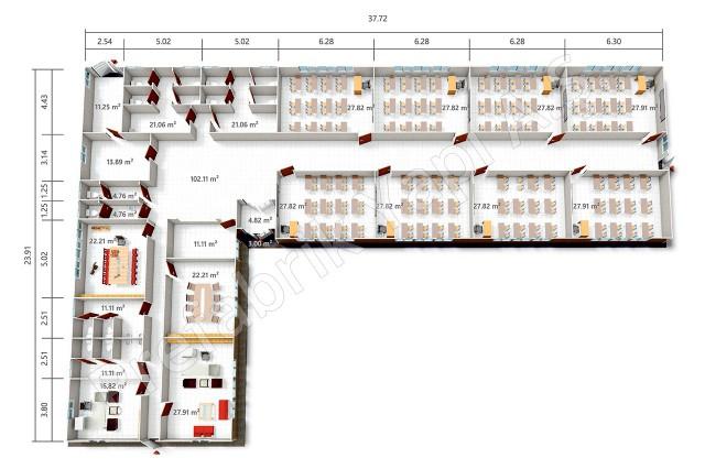 PREY 555 m2 Plan