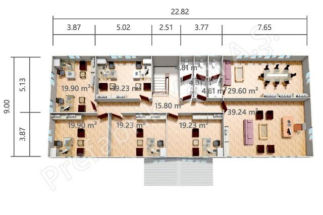 Premier plan d'étage