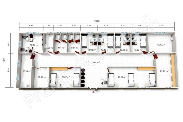 PRSY 295 m2 Plan