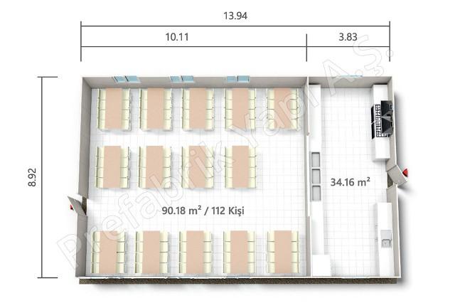 PRY 124 m2 Plan