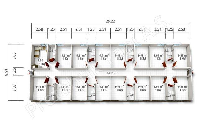 PRYT 225 m2 Plan