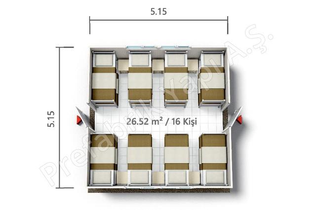 PRYT 27 m2 Plan