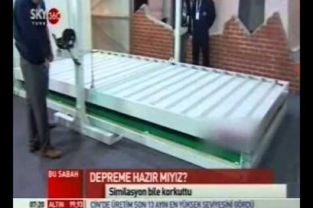 Prefabrik Yapi A.Ş. dans Sky Turk 360Nouvelles