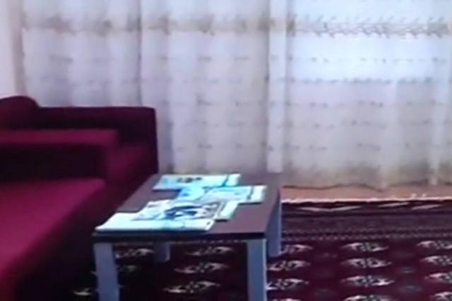 Bâtiments Turkménistan Border Patrol résidentiels ouverture