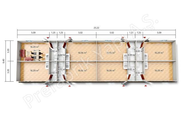 YPE 4 161 m2 Plan