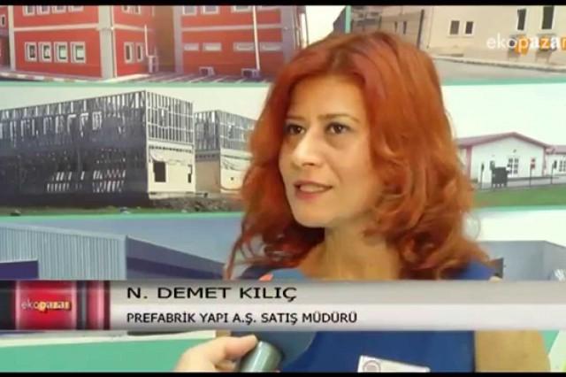 Istanbul Construction Fair 2015 Ekopazar [ATV Avrupa]
