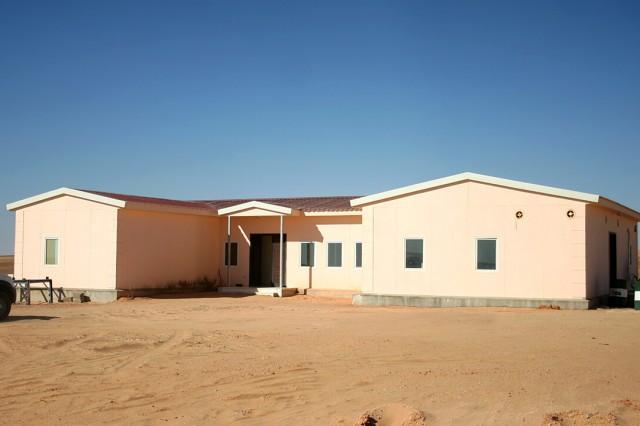 6.500 m2 Bâtiments Sociaux