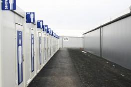 Les Containers Pour Les Refugiées
