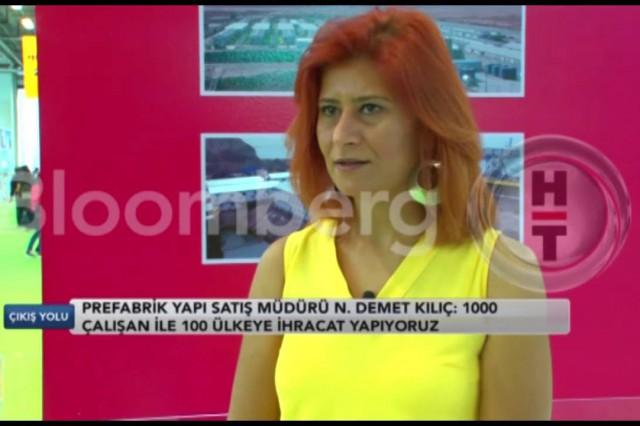 Prefabrik Yapı au 39e Salon Turquie Construire [Bloomberg HT]