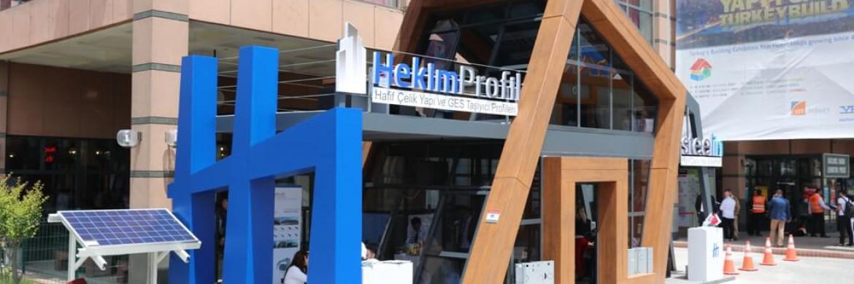 Hekim Profil a participé au Salon avec ses Profils Porteurs pour les Systèmes d'Énergie Solaire