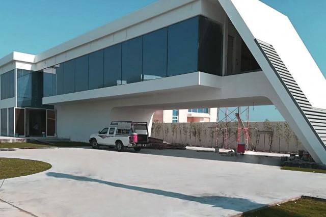 Projet de villa en acier léger