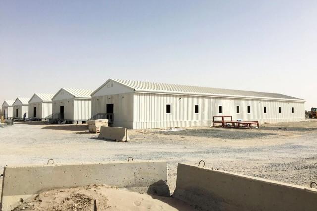 Camp Militaire Préfabriqué