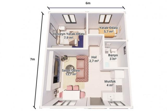Maison Paquet 42 m²