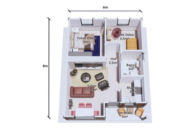 Maison Paquet 48 m²