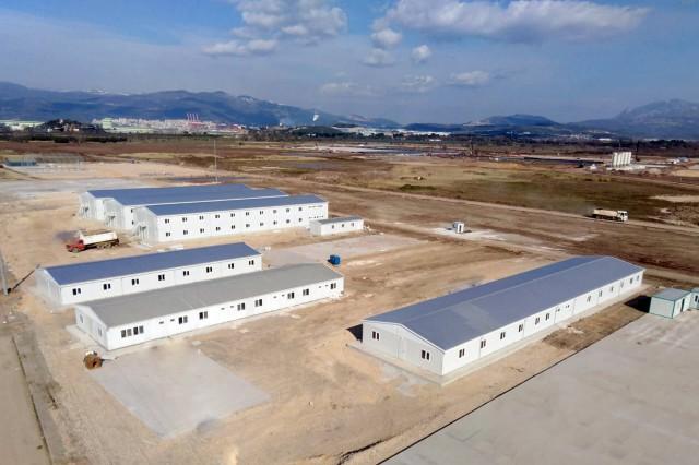 Camp d'Ouvriers Préfabriqué Gemlik